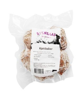 kjøttkaker av elgkjoettdeig